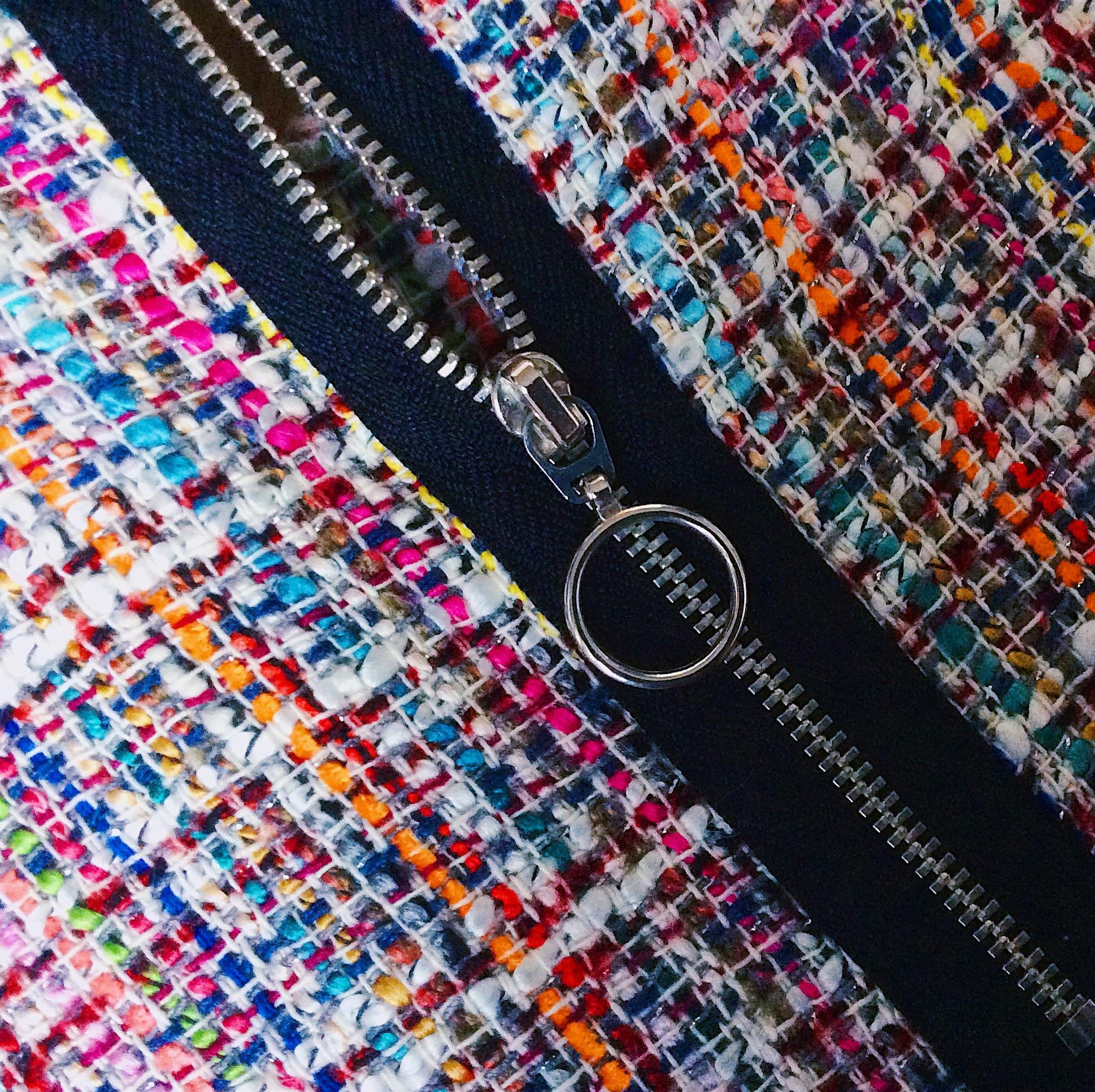 haut zara tweed